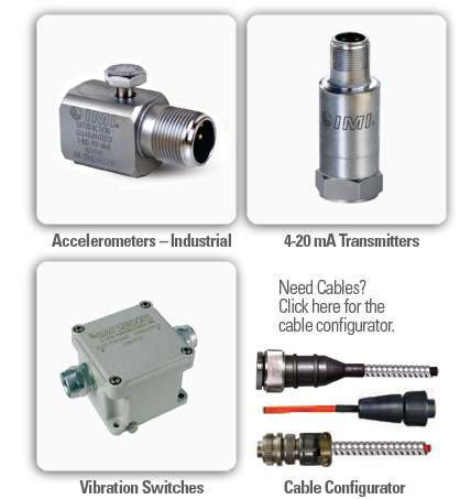 Industrial Vibration Monitoring Products
